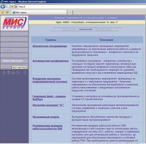 Сайт Мис-Сервис